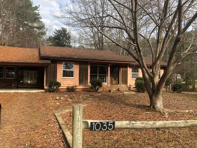 Boydton Single Family Home For Sale: 1035 Hinton Mill