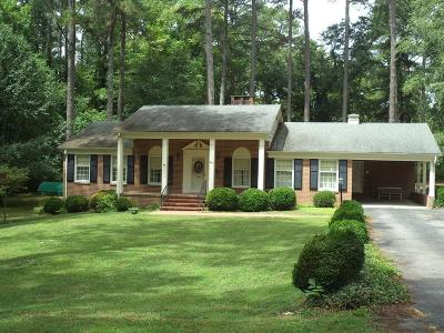 Lawrenceville Single Family Home For Sale: 601 Thomas Street