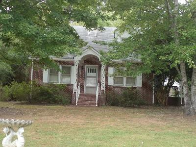 Lawrenceville Single Family Home For Sale: 15485 Christanna Hwy