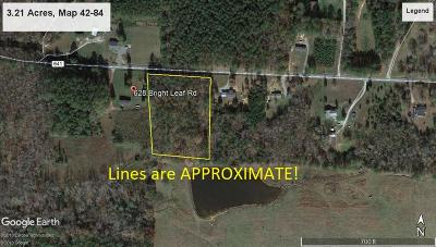 Residential Lots & Land SOLD: 000 Bright Leaf Rd