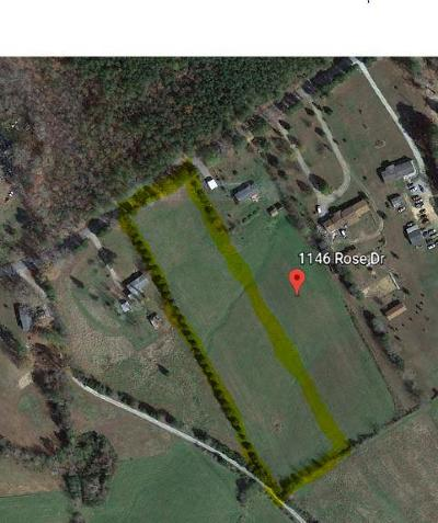 Lawrenceville Residential Lots & Land For Sale: 3.41 Ac Rose Dr