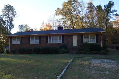 Warrenton Single Family Home Under Contract/Pending: 157 Ridgecrest Drive