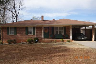 Warrenton Single Family Home For Sale: 549 Us Hwy 158 Business E