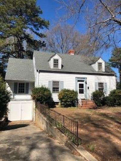 South Hill Single Family Home For Sale: 609 N. Brunswick Avenue