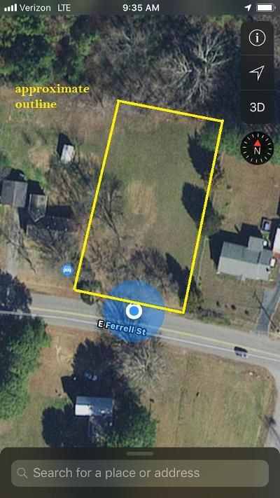 South Hill Residential Lots & Land For Sale: E Ferrell Street