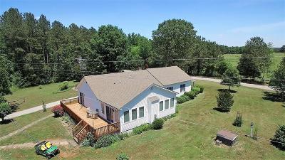 Littleton Single Family Home For Sale: 1227 Weavers Chapel Rd