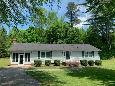 South Hill Single Family Home Under Contract/Pending: 454 Callis Road