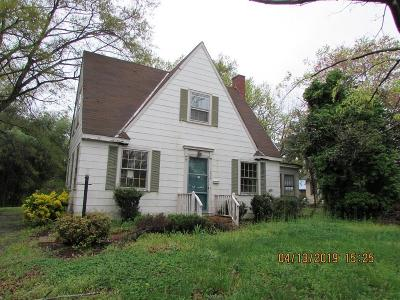 South Hill Single Family Home For Sale: 609 N. Mecklenburg Ave