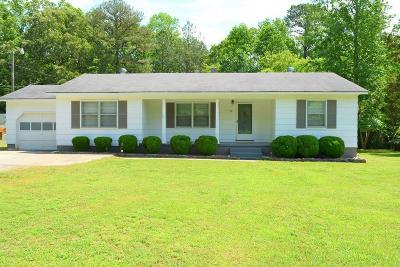 Lawrenceville Single Family Home For Sale: 62 Cedar Grove Road