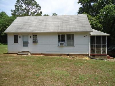 Lawrenceville Single Family Home For Sale: 18800 Christanna Hwy
