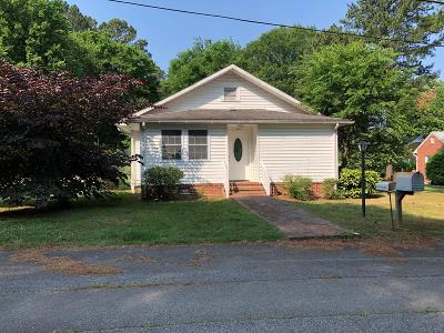 South Hill Single Family Home Under Contract/Pending: 113 W Ferrell Street