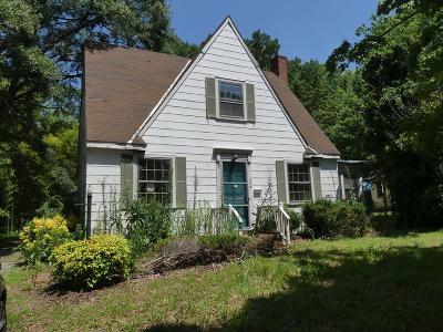 South Hill Single Family Home For Sale: 609 North Mecklenburg Av
