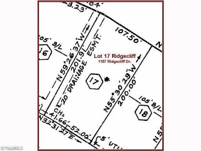 Rural Hall Residential Lots & Land For Sale: 1157 Ridgecliff Drive