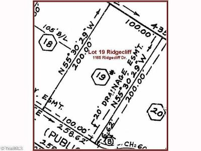 Rural Hall Residential Lots & Land For Sale: 1165 Ridgecliff Drive