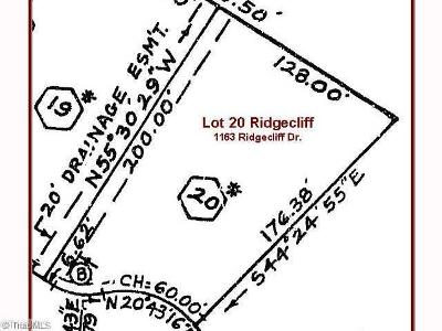 Rural Hall Residential Lots & Land For Sale: 1169 Ridgecliff Drive