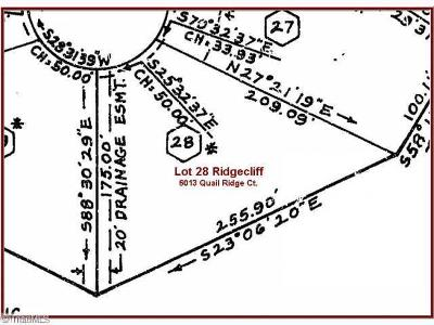 Rural Hall Residential Lots & Land For Sale: 6013 Quail Ridge Court