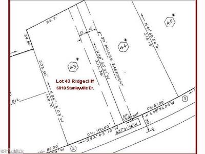 Rural Hall Residential Lots & Land For Sale: 6018 Stanleyville Drive