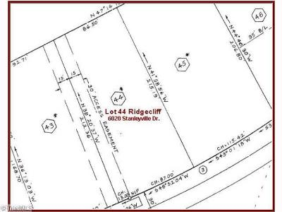 Rural Hall Residential Lots & Land For Sale: 6020 Stanleyville Drive