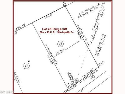 Rural Hall Residential Lots & Land For Sale: 00 Stanleyville Drive