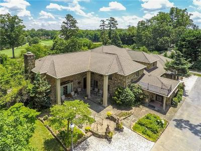 High Point, Kernersville, Winston Salem, Browns Summit, Burlington, Greensboro, Jamestown, Oak Ridge, Summerfield Single Family Home For Sale: 3203 Alamance