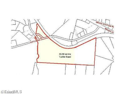Rural Hall Residential Lots & Land For Sale: Tuttle Road