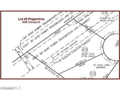Clemmons Residential Lots & Land For Sale: 5335 Chicory