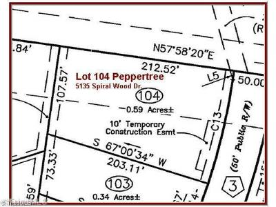 Clemmons Residential Lots & Land For Sale: 5135 Spiral Wood