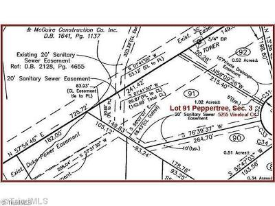 Clemmons Residential Lots & Land For Sale: 5255 Vineleaf