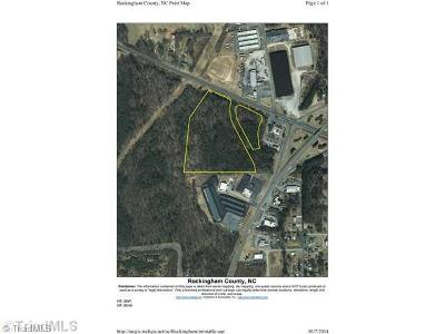 Rockingham County Commercial Lots & Land For Sale: 12.29 Ac Nc Highway 87