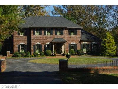Reidsville Single Family Home For Sale: 1619 Fairway Drive