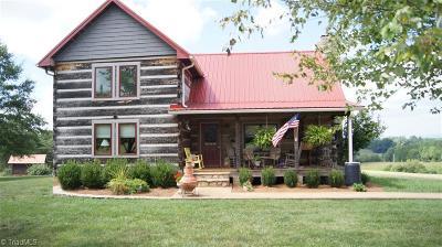 Single Family Home For Sale: 1425 Amos Ridge Road