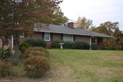Winston Salem Single Family Home For Sale: 1450 Fairfield Drive