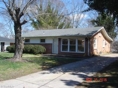 Single Family Home Closed: 2012 Armhurst Road