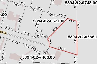Winston Salem Residential Lots & Land For Sale: 155 Red Fox Trail
