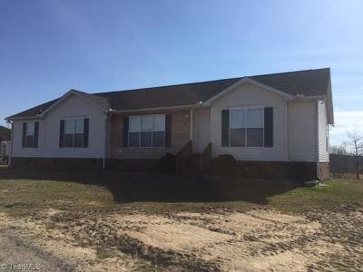 Caswell County Single Family Home For Sale: 452 Ross Acres Road 1