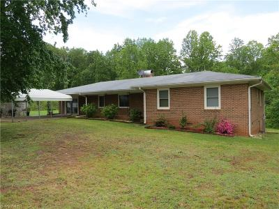 Caswell County Single Family Home For Sale: 228 Rice Road