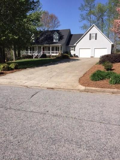 Reidsville Single Family Home For Sale: 1405 Ashland Drive