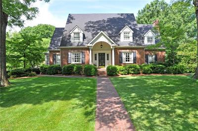 Winston Salem NC Single Family Home For Sale: $1,100,000