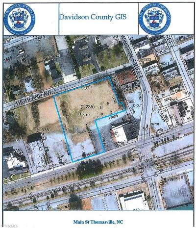 Thomasville Residential Lots & Land For Sale: W Main Street
