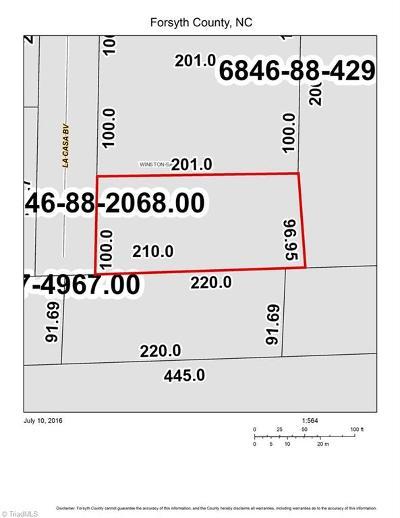 Winston Salem Residential Lots & Land For Sale: 3483 La Casa Boulevard