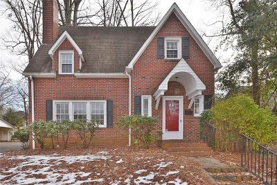 Winston Salem Single Family Home For Sale: 2368 Lyndhurst Avenue