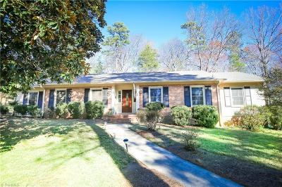 Winston Salem Single Family Home For Sale: 3615 Dewsbury Road