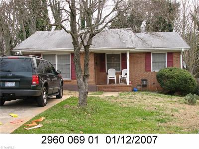 Single Family Home For Sale: 1263 Tredwell Drive