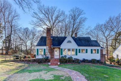 Single Family Home Sold: 1313 Woodland Drive