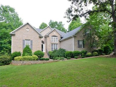 Summerfield Single Family Home For Sale: 6575 Lake Brandt Road