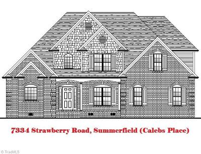 Summerfield Single Family Home For Sale: 7334 Strawberry Road