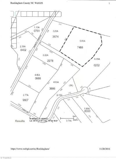 Reidsville Residential Lots & Land For Sale: Off Of Manley Farm Road