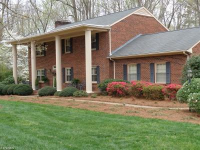 Stoneville Single Family Home For Sale: 201 Oakgrove Drive