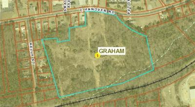 Alamance County Commercial Lots & Land For Sale: E Hanover Road