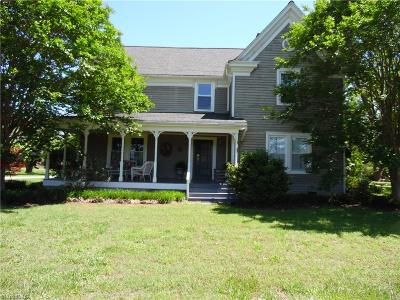Caswell County Single Family Home For Sale: 3143 Us Highway 158 W